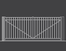 fence-outline-Swing-Arch