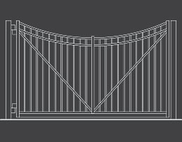 fence-outline-Swing-Gate-02-Arch