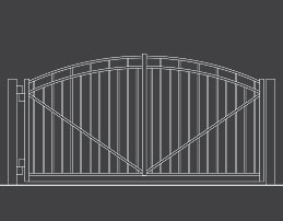 fence-outline-Swing-Gate-03-Arch