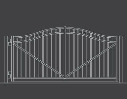 fence-outline-Swing-Gate-04-Arch