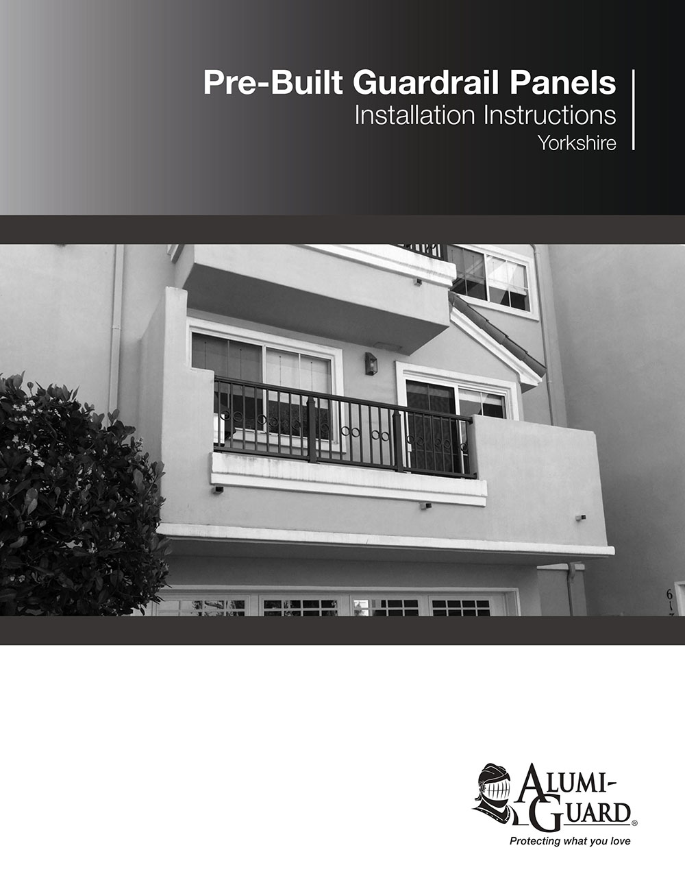 Pre-Built-Guardrail Installation Brochure